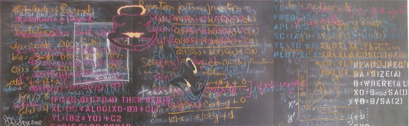 projections chalkboard