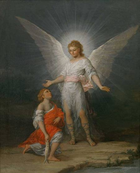 Francisco de Goya's Tobias and the angel, around 1787, Museo del Prado