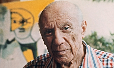 French tradition … Pablo Picasso at his studio in Mougins, France, 1971. Photo: AFP/Getty Images