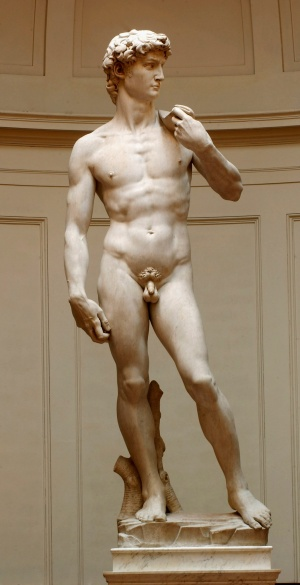 Restoration Work Completed On Michelangelo's David