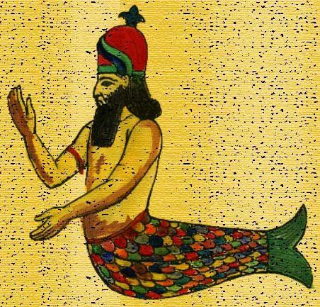 B-2. picture-of-merman-as-semitic-god-dagon
