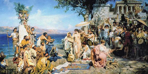 B-4. Phryne-at-the-Poseidonia-in-Eleusis