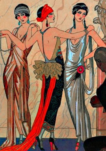 B-5. three graces art deco Barbier