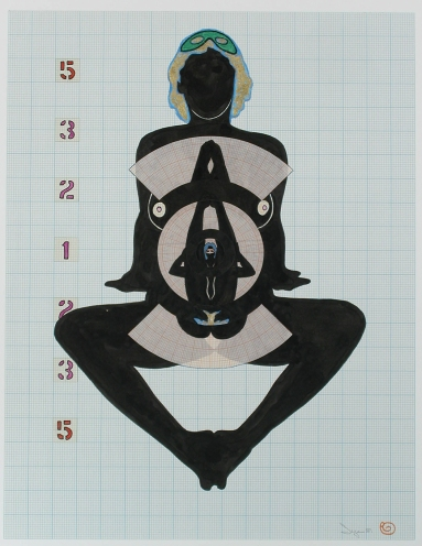 "B-4. 40-81 Erotic Intersection, 24x32"", 1981"